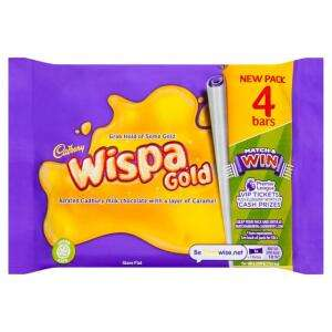Wispa Gold 4 pack - £1 in Morrisons
