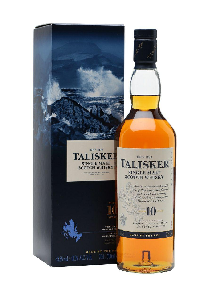 Talisker 10 Year Old Single Malt Scotch Whisky 70cl- £25 @ McColls (Fife)