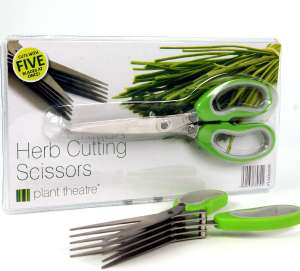 Plant Theatre herb cutting scissors with 5 blades for £8.99 Prime (£13.48 non-Prime) delivered @ Garden and Home UK fulfilled by Amazon