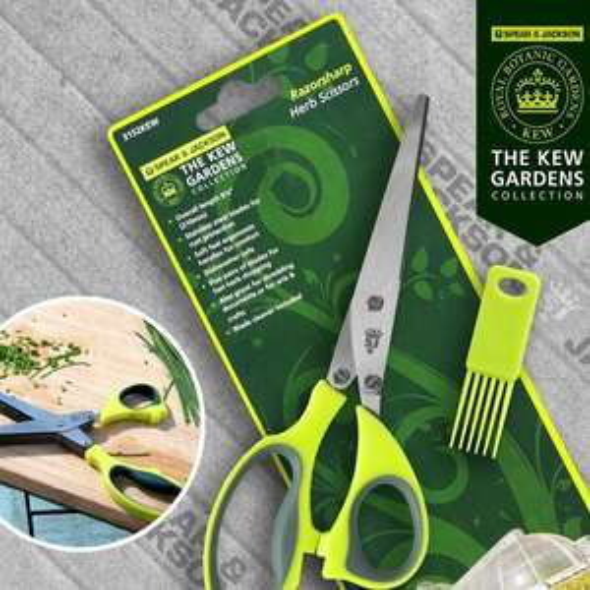 5 blade herb scissors - Spear & Jackson for Kew Gardens £4.95 ebay / ukbrandedtools