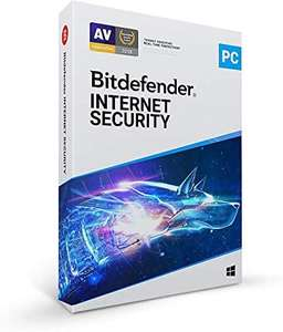 Bitdefender From £14.99 for Bitdefender Internet Security 3 Devices - Sold by Bitdefender Limited and Fulfilled by Amazon (+£4.49 np)
