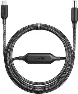 Anker 6ft Type-C to DC Power Plug Extension Charger Cable, PowerLine USB-C to DC Cable - £9.99 Prime/£14.48- Sold by AnkerDirect & FBA