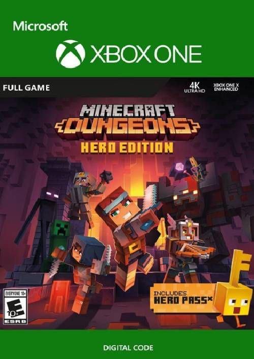 Minecraft Dungeons Hero Edition Xbox One (UK) - £19.99 @ CDKeys
