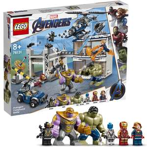 Lego Super Heroes: Avengers Compound Battle - 76131 - 699 Pieces - £65.59 + Free Delivery @ IWOOT