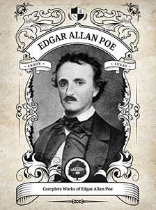 Complete Works of Edgar Allan Poe by Oakshot Press (Illustrated, Inline Footnotes) FREE Kindle Ebook @ Amazon