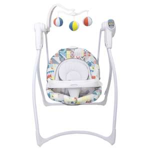 Graco Lovin Hug Baby 6-speed musical Swing with integrated auto shutdown timer, 4-position reclining seat unit £69.99 from Online4baby