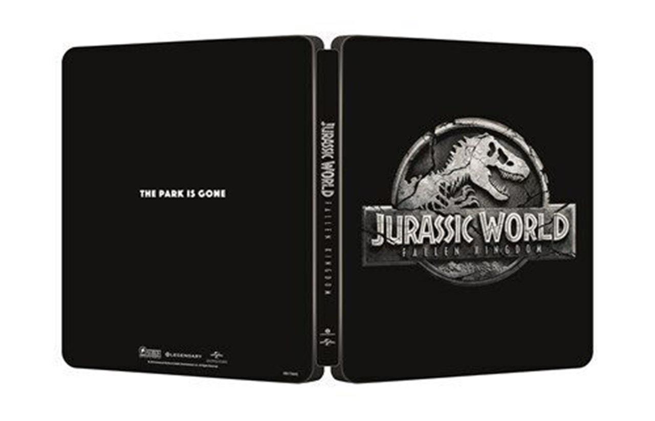 Jurassic World: Fallen Kingdom 4k UHD Steelbook Inc 3D + Blu ray + Digital £10.99 + P&P £1.99 free over £20 spend @ HMV