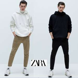 Men's Soft Denim Slim Jogging Trousers - 3 colours to choose from (was £25.99) Now £12.99 delivered + Free Returns @ Zara