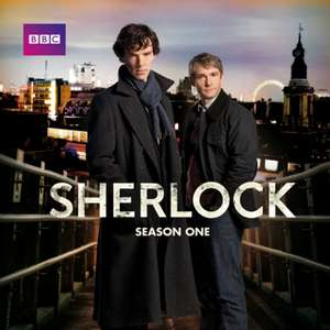 Sherlock, Series 1 - 4 & The Abominable Bride on offer from £3.99 per series @ iTunes