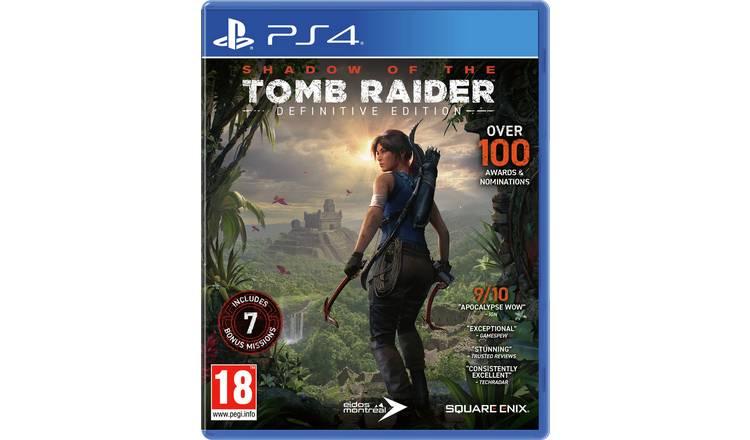 Shadow of the Tomb Raider PS4 definitive edition £20.98 del @ Argos