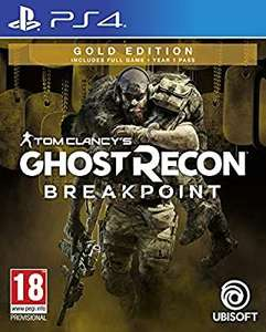 Tom Clancy's Ghost Recon Breakpoint Gold Edition [PS4] - £19.99 (+ £2.99 Non Prime) @ Amazon