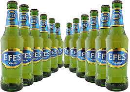 Efes Pilsner Lager 330ml 5%abv 89p @ Home Bargains East Kilbride