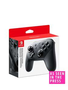 Nintendo Switch Pro Controller £54.99 (possibly £34.99 with VERY Credit Account) - Very