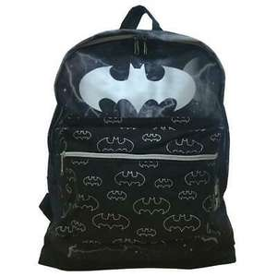 Batman Backpack Black Logo - £7.99 @ bitsandthebobs / eBay