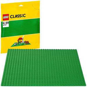 LEGO 10700 Classic Base Extra Large Building Plate 10 x 10 Inch Platform, Green £5.50 + £4.49 NP @ Amazon