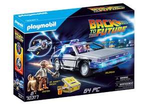 Playmobil Back to the Future DeLorean - £39.99 / 1955 Marty & Doc - £5.59 With Code @ Playmobil