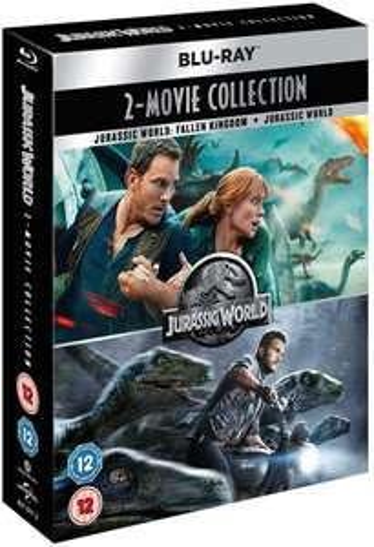 Jurassic World 2-Movie Collection 4k UHD - £6.10 delivered @ youberdeals91/ ebay