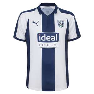 West Brom- Replica football kit £5 plus postage 18/19 Size S £7.99 delivered @ WBA Shop