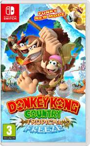 Donkey Kong Country: Tropical Freeze (Nintendo Switch) for £36.79 delivered @ Currys PC World / eBay