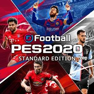 eFootball PES 2020 PS4 Standard £4.99 PS+ / Legend Edition £6.99 PS+ @ PS store