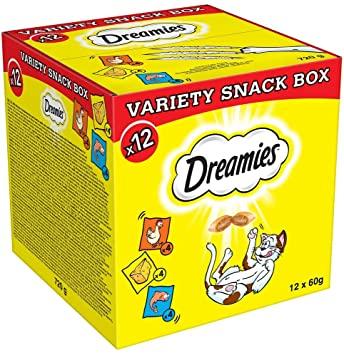 x12 Dreamies Cat Treat's Variety Box £10.19 prime / £14.68 non Prime at Amazon