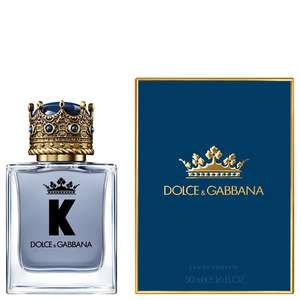 K by Dolce&Gabbana Eau De Toilette 50ml Spray £34.40 / £37.39 delivered, using code @ The Fragrance Shop
