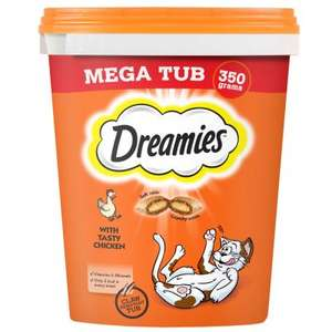 3 for 2 on Dreamies @ Zooplus e.g. 3 x Dreamies Cat Snacks for £9.89 / £13.88 delivered