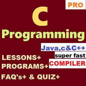 Learn C Programming with Compiler [ Premium ] free at Google Play