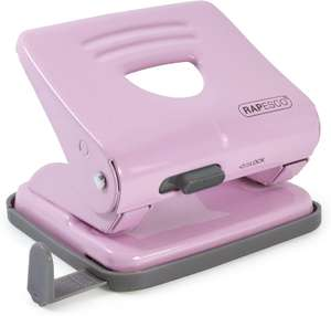 Rapesco 1358 2-Hole Metal Punch, 25 Sheet Capacity, Candy Pink - £3.59 (Prime) / £8.08 (Non Prime) delivered @ Amazon