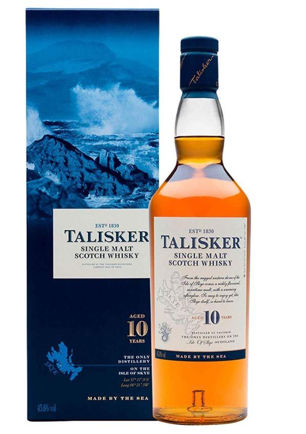Talisker 10 Year Old Single Malt Scotch Whisky 70cl - £29.95 at Amazon