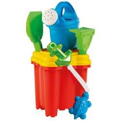 Castle Shape Bucket and spade Set with Watering Can and Accessories Assortment £4.99 Free Delivery for members From Smyths