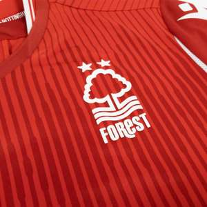 Nottingham Forest home shirts for just £10 plus £3.99 P&P at Nottingham Forest FC