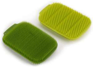 Joseph Joseph Cleantech 100% Recyclable Washing-Up Scrubber (2-Pack) - Green/Dark Green £4.80 Amazon Prime / £9.29 Non Prime
