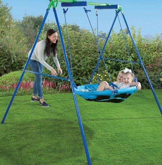 Kids Nest / Saucer Garden Swing and Frame £69.99 Delivered from Studio