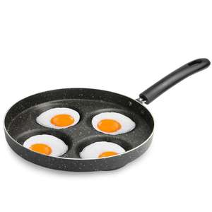 Multi-Egg Frying Pan - £9.99 + Free Delivery using code @ Roov