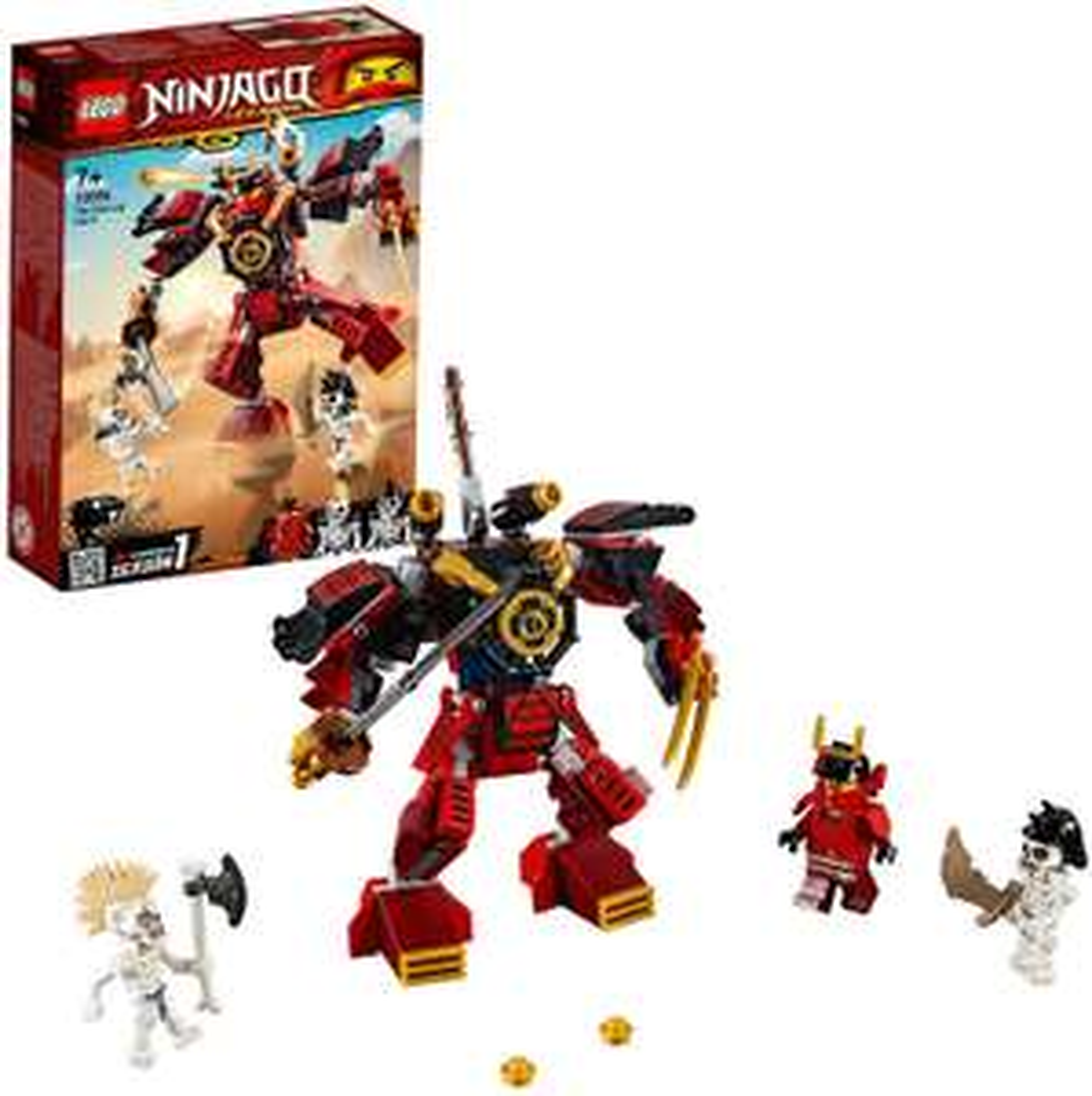 LEGO 70665 NINJAGO The Samurai Mech £10 (Prime) £14.49 (non Prime) at Amazon