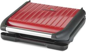 George Foreman Large Red Steel Grill 25050 £40 at Amazon