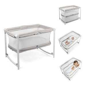 Chicco Zip & Go Travel Cot / Side Crib - Glacial £69.95 Delivered @ online4baby