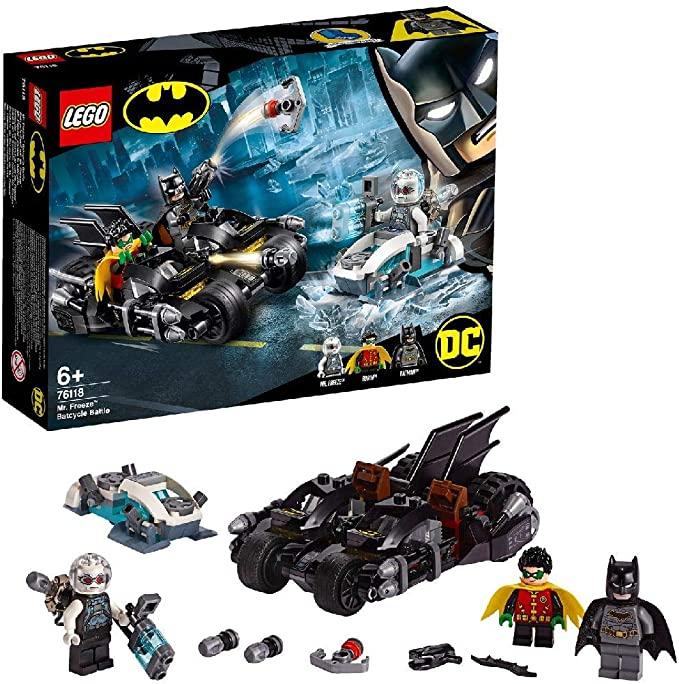 LEGO 76118 DC Mr. Freeze Batcycle Battle £15.99 (Prime) / £20.49 (non Prime) at Amazon