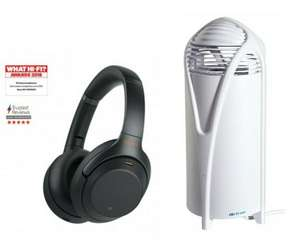 Sony WH-1000XM3 Wireless Noise Cancelling Headphones + Free Airfree T40W Air Purifier worth £70 ish - £239.99 With Code @ PRC Direct