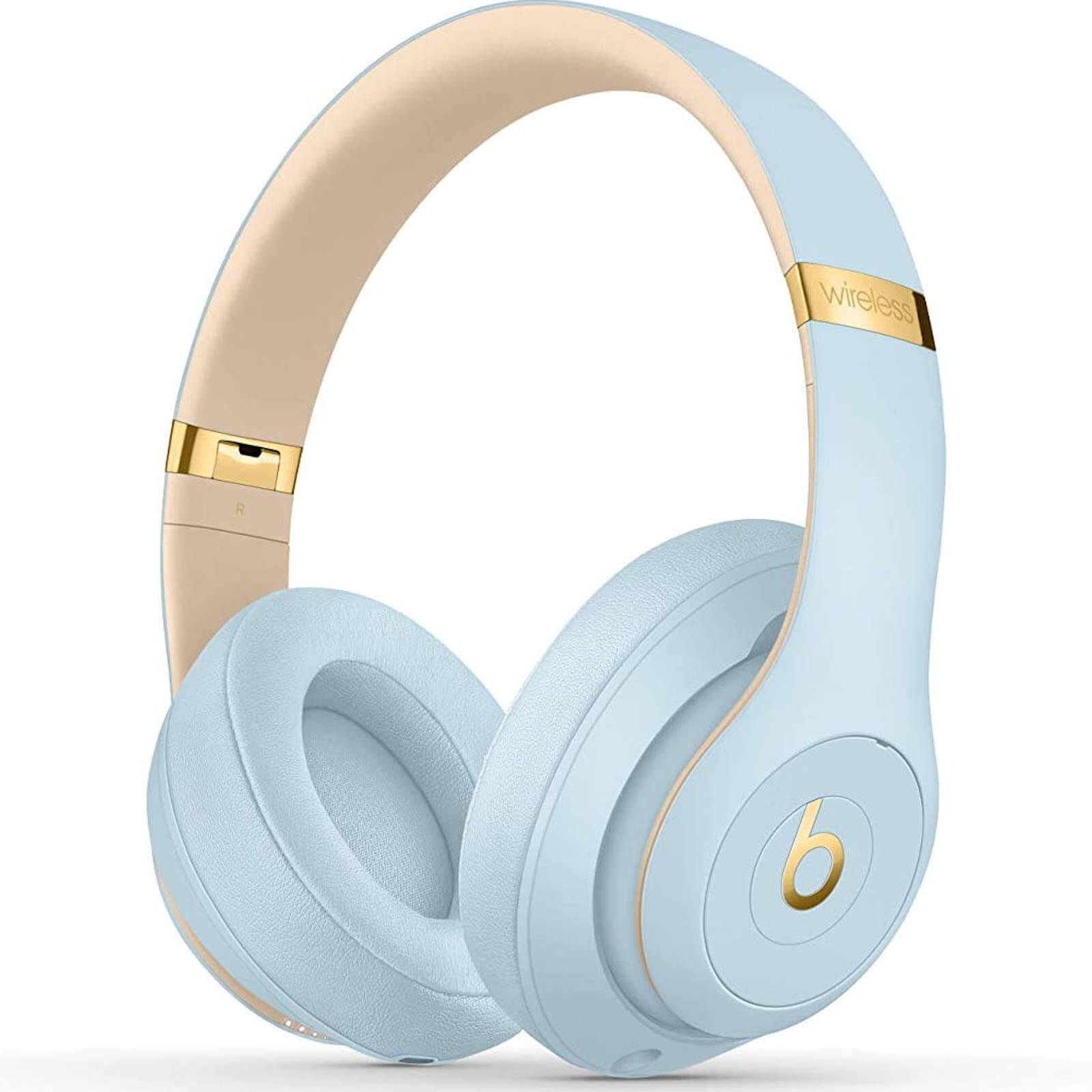 Beats By Dr. Dre Studio3 Bluetooth Wireless On-Ear Headphones - Crystal Blue £174.99 at Zavvi