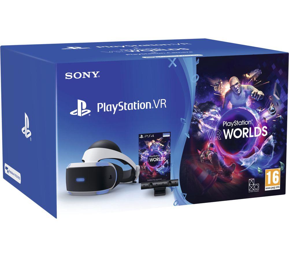 PlayStation VR Starter Pack £199 / PlayStation VR MegaPack 2 £229 + £20 Currys Voucher @ Currys Via Voucher Codes