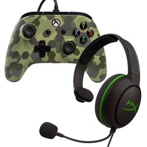Buy 2 selected games or accessories for £30 (e.g Xbox Wired Controller + HyperX CloudXHeadset) + £3.95 Delivery @ Argos