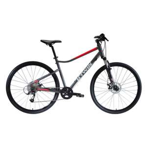 B'Twin Riverside 500 Hybrid Bike (small only) in grey for £294.98 delivered @ Decathlon