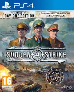 Sudden Strike 4 - Limited Day One Edition (PS4) - £7.85 delivered @ Base