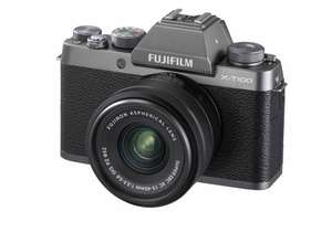 FUJIFILM X-T100 Kit (XC15-45mm Lens) Refurbished - Dark Silver - £249 at Fujifilm Shop