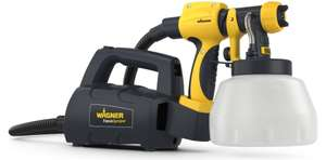 Wagner Fence & Decking Paint Sprayer for fences, sheds, decking or garden furniture, 1400 ml capacity, 460 W, 1.8 m hose - £49.99 @ Amazon