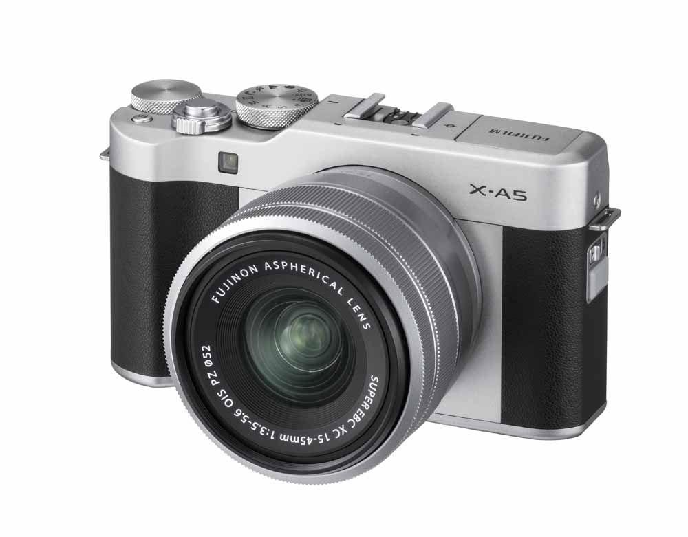 FUJIFILM X-A5 Kit (XC15-45mm Lens) Refurbished - Silver - £249 @ Fujifilm S