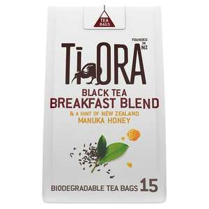 Tiora black tea 15 pack 37g - 20p @ Sainsburys (Oldham)