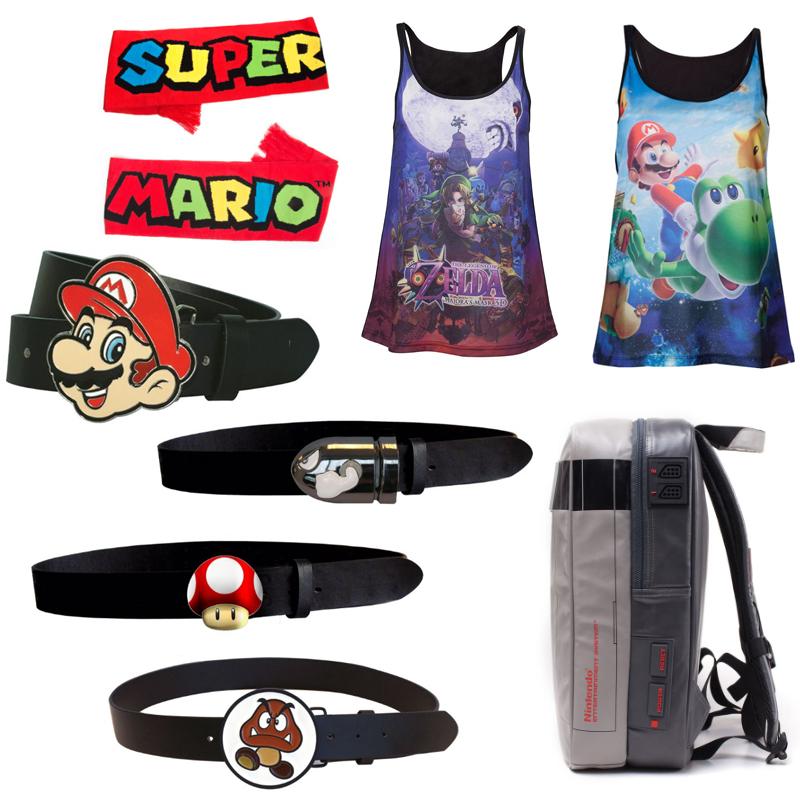 Geekcore Sale - Super Mario Bullet Bill Belt £10.98 / Nintendo NES Console Backpack £19.98 Delivered